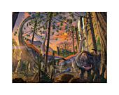 Dinosaurs - Curious Fine Art Print Vincent Hie