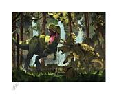 Dinosaurs - Protection Fine Art Print Vincent Hie