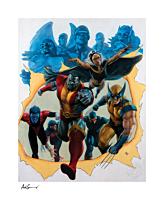 X-Men - Giant-Size X-Men Fine Art Print by Adi Granov