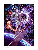 Fantastic 4 - Heralds of Galactus Fine Art Print by John Keaveney