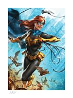 Batman - Batgirl: The Last Joke Fine Art Print by Ian MacDonald