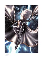 X-Men - Storm Fine Art Print by Taurin Clarke