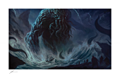HP Lovecraft - Cthulhu I Fine Art Print by Richard Luong