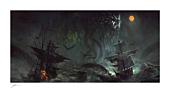 HP Lovecraft - Cthulhu II Fine Art Print by Richard Luong