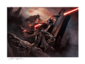 Star Wars - Darth Maul™: Savage Rage Fine Art Print by Brian Rood