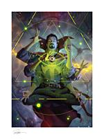 Doctor Strange - Doctor Strange Fine Art Print by Alex Garner