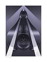 Batman - Batmobile: Batman 1989 Fine Art Print by Fabled Creative