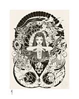 Hakai & Saisei Fine Art Print by Peach Momoko