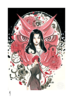 X-Men - Demon Days: Mariko & Black Widow Fine Art Print by Peach Momoko