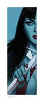Vampirella - Vampirella & Red Sonja: Vampirella Fine Art Print by Ben Oliver