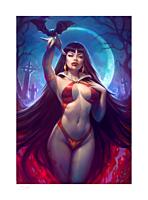 Vampirella - Vampirella Fine Art Print by Sun Khamunaki