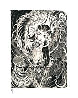 Inner Beauty Fine Art Print by Peach Momoko