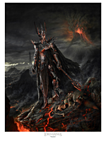 """The Lord of the Rings - Sauron Variant 18"""" x 24"""" Fine Art Print by Jerry Vanderstelt"""