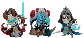 """Court of the Dead - Court-Toons 5"""" Statue Set"""