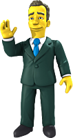 """The Simpsons - 25th Anniversary - Tom Hanks 5"""" Action Figure"""
