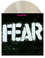 """Fear - The Record LP + 7"""" Single Vinyl Record (2021 Record Store Day Exclusive Clear & White Vinyl)"""