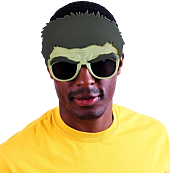 Avengers 2: Age of Ultron - Hulk Sun-Staches Sunglasses (One Size)