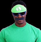 Super Mario - Luigi Mustache Sun-Staches Sunglasses (One Size)