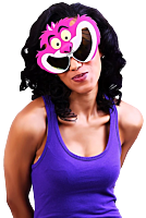 Alice in Wonderland - Cheshire Cat Sun-Staches Sunglasses (One Size)
