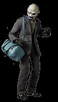 Batman: The Dark Knight - The Joker Bank Robber Version 1/12th Scale Action Figure