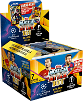 Soccer - UEFA 2019/20 Champions Leaue & Europa League Match Attax 101 Football Cards Booster Box (Display of 50)
