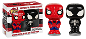 Spider-Man and Black Suit Spider-Man Pop! Home Salt and Pepper Shakers