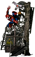 Spider-Man - Spider-Man 1/4 Legacy Scale Diorama Statue