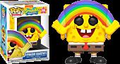 SpongeBob SquarePants - SpongeBob SquarePants with Rainbow Funko Pop! Vinyl Figure.