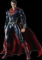 "Superman - Man of Steel - Superman Play Arts Kai 10"" Action Figure"