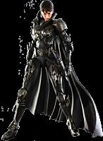 "SUPERMAN - MAN OF STEEL - FAORA-UI PLAYARTS 10"" ACTION FIGURE"