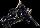 "Final Fantasy VII - Cloud Strife & Fenrir Play Arts Kai 10"" Action Figure Set"