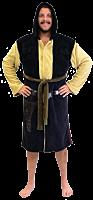 Star Wars - Han Solo Hooded Fleece Bathrobe / Dressing Gown (One Size Fits Most)