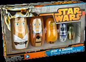 Star Wars - Jedi and Droids Nesting Doll Set main image