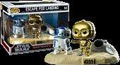 Star Wars - C-3PO and R2-D2 Escape Pod Landing Movie Moments Funko Pop Vinyl Figure 2-Pack