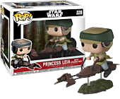 Star Wars - Princess Leia on Speeder Bike Deluxe Funko Pop! Vinyl Figure