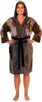 Star Wars: Rogue One - Jyn Erso Hooded Fleece Bathrobe / Dressing Gown (One Size Fits Most)