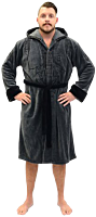 Star Wars: Rogue One - K-2SO Hooded Fleece Bathrobe / Dressing Gown (One Size Fit Most)