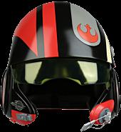 Star Wars Episode VII: The Force Awakens - Poe Dameron Black Squadron 1:1 Scale Life-Size Helmet Replica by Anovos