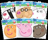 Peppa Pig - Peppa Pig & Friends Party Masks 6-Pack