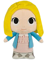 """Stranger Things - Eleven with Wig SuperCute 8"""" Plush by Funko"""