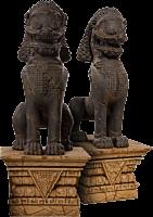 Street Fighter - Sagat Thai Guardian Statues (Set of 2)