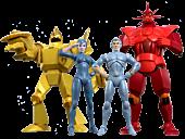 "SilverHawks - Wave 1 Ultimates! 7"" Action Figure Assortment (Set of 4)"