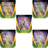 """Mighty Morphin' Power Rangers - Wave 1 Ultimates! 7"""" Scale Action Figure Assortment (Set of 5)"""
