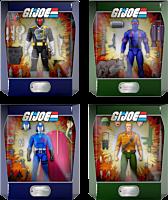 "G.I. Joe: A Real American Hero - Wave 1 Ultimates! 7"" Action Figure Assortment (Set of 4)"