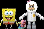 "SpongeBob SquarePants - Wave 1 Ultimates! 7"" Scale Action Figure Assortment (Set of 2)"