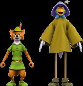 "Robin Hood (1973) - Robin Hood with Stork Costume Ultimates! 7"" Scale Action Figure (Wave 2)"