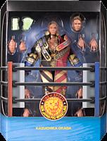 "New Japan Pro-Wrestling - Kazuchika Okada Ultimates! 7"" Scale Action Figure (Wave 1)"