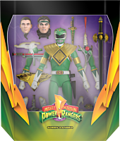 """Mighty Morphin' Power Rangers - Green Ranger Ultimates! 7"""" Scale Action Figure"""