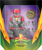 "Mighty Morphin' Power Rangers - Tyrannosaurus Rex Dinozord Ultimates! 8"" Action Figure"