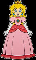 "Super Mario Bros - Princess Peach 3"" Lapel Pin"